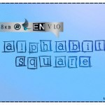 فونت لاتین alphabits square