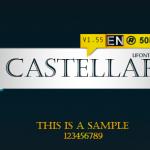فونت لاتین castellar
