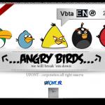دانلود فونت لاتین پرنده های خشمگین angry birds