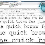 آموزش نصب فونت در ویندوز XP و SEVEN و ۸ و ۱۰ (بروزرسانی شد)
