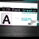 نرم افزار Glcd Font Creator