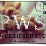دانلود فونت لاتین PWSerifScratch