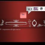 سمبل حاشیه و کادر ornaments labels and frames