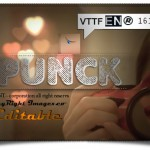 فونت لاتین Punck