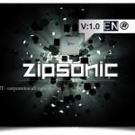 دانلود فونت لاتین ZipSonic