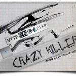 دانلود فونت لاتین Crazy Killer