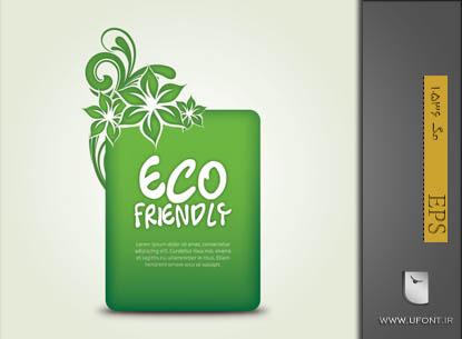 دانلود وکتور Eco