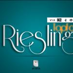 فونت لاتین Riesling