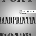 دانلود فونت لاتین handyprinting