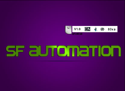دانلود فونت لاتین Automation