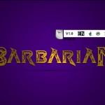 فونت لاتین barbarian