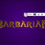 دانلود فونت لاتین barbarian