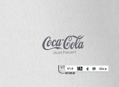 دانلود فونت لاتین CocaCola - پیشنمایش