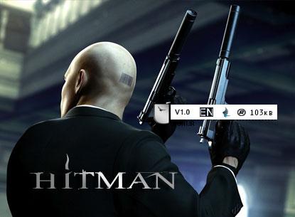 فونت اورجینال بازی Hitman