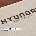 پیش نمایش فونت hyundai