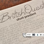 پیش نمایش فونت british-quest