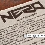 دانلود فونت گرافیکی و جدید Nero