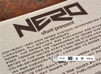دانلود فونت گرافیکی و جدید Nero - پیشنمایش