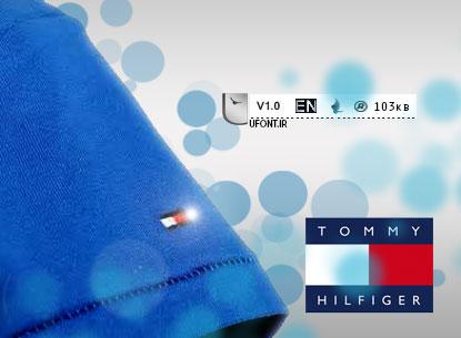 دانلود فونت برند tommyhilfiger - پیشنمایش