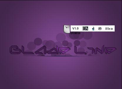 دانلود فونت لاتین Blade Line