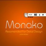 دانلود فونت لاتین MonaKo