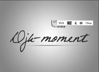 دانلود فونت لاتین Moment - پیشنمایش