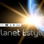 پیش نمایش فونت planet_estyle