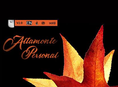 فونت گرافیکی لاتین Altamonte Personal Use