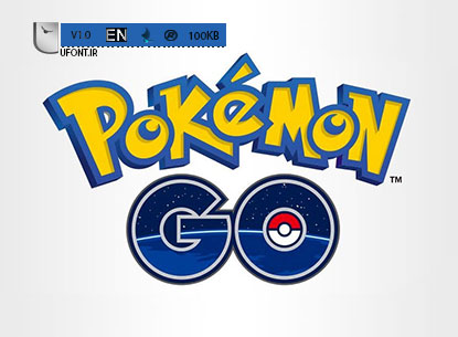 دانلود فونت بازی محبوب Pokemon Go