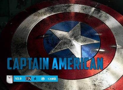 دانلود فونت لاتین Captain American