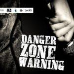 فونت لاتین danger zone warning