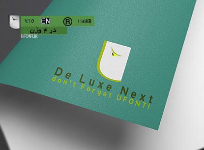 فونت لاتین De Luxe Next