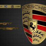 دانلود فونت لاتین Porsche